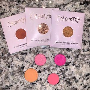 Colourpop pressed pigment eyeshadow